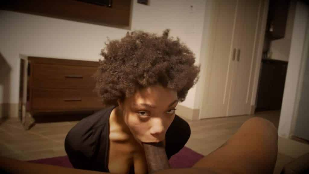Ebony Teen Fucked Bathroom